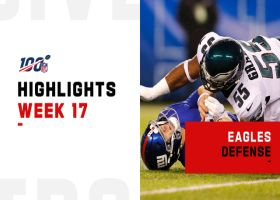 Every game-changing defensive play by the Eagles | Week 17