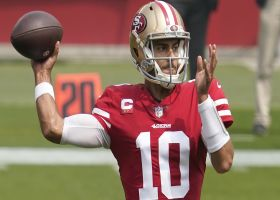 Wyche: John Lynch not ruling out Garoppolo staying in SF after trade
