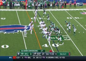 Mario Addison notches first sack with the Bills