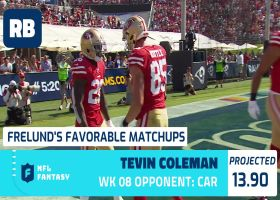 Cynthia Frelund's 10 most favorable Flex matchups | Week 8