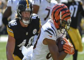 Can't-Miss Play: Tyler Boyd pinballs off three DBs for TD