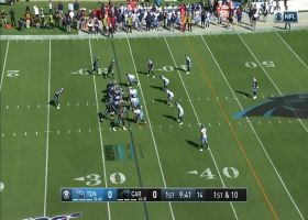 Kyle Allen works middle of field with 23-yard strike to Greg Olsen