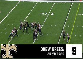 Drew Brees' top 10 throws   2019 season