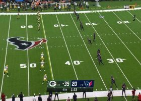 Texans recover late onside kick