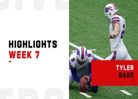 Every Tyler Bass field goal from 18-point game | Week 7
