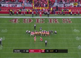 Robbie Gould misses PAT wide left