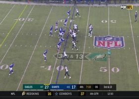 Boston Scott puts Giants in spin cycle on slippery 39-yard catch and run