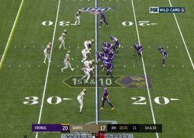 Kirk Cousins leads the way for Stefon Diggs on reverse
