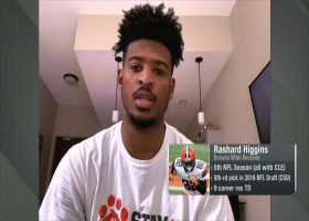 Rashard Higgins: I 'envision' Browns making playoffs this year