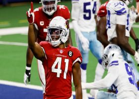 Cardinals capitalize on Zeke's fumble with walk-in TD by Kenyan Drake