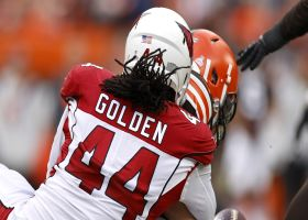 Markus Golden flies into backfield to sack Mayfield for second time