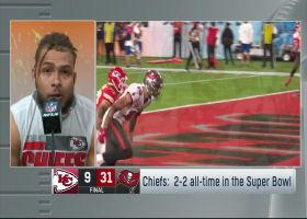 Tyrann Mathieu reacts to loss vs. Bucs in Super Bowl LV