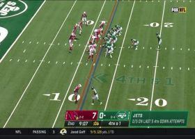 Cardinals defense stops Bell short on fourth down to force turnover