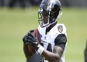 Kinkhabwala reveals the Ravens newcomer who's 'killing it' so far in camp