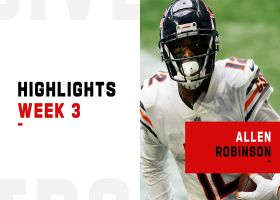 Every catch from Allen Robinson's 123-yard day | Week 3