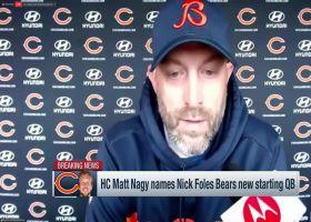Matt Nagy announces Nick Foles will be Bears' starter vs. Indy