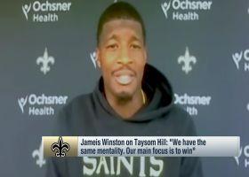 Jameis Winston, Taysom Hill praise each other amid Saints' QB competition