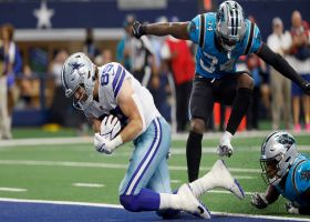 Cowboys' rub route frees up Jarwin underneath for 18-yard TD grab