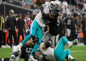 Carl Nassib leads Raiders' ambush to sack Brissett for 13-yard loss