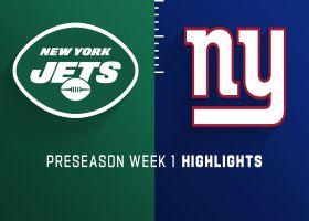 Jets vs. Giants highlights | Preseason Week 1