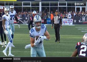 Prescott locates Schultz inside 5-yard line for near-TD