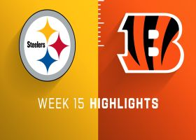 Steelers vs. Bengals highlights | Week 15