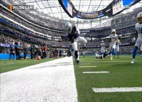 CeeDee Lamb's wild lateral to Zeke nearly leads to score on final play of first half