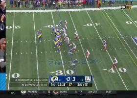 Stafford's 28-yard deep ball hits Kupp amid three Giants