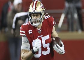 Silver: 49ers 'not close at all' to striking new deal with Kittle