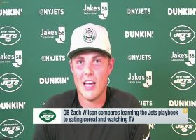 Zach Wilson on learning Jets playbook: 'It's going to be a process'
