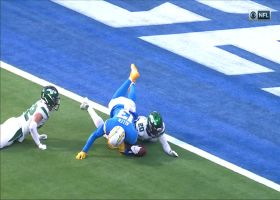 New York Jets deny Keenan Allen TD with goal-line fumble