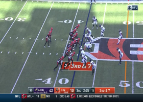 Tyus Bowser turns Patrick Ricard's monstrous strip-sack into 34-yard TD