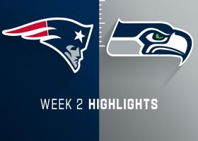 Patriots vs. Seahawks highlights | Week 2