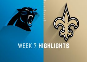 Panthers vs. Saints highlights | Week 7