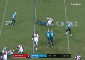 Peyton Barber unleashes nifty spin move to evade defenders