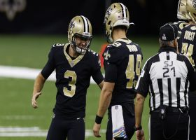 Wil Lutz knocks through 36-yard FG to give Saints an OT lead