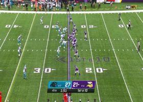 Kirk Cousins dots Justin Jefferson for 15-yard pickup