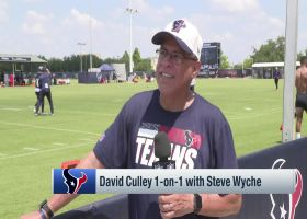 David Culley discusses Deshaun Watson's participation in Texans camp