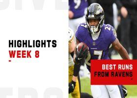 Best runs from Ravens 265-yard rushing performance | Week 8