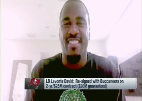 Lavonte David explains why he wanted to re-sign with Bucs