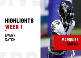 Every Marquise Brown catch from 101-yard day | Week 1