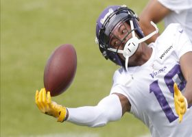 First look: Justin Jefferson at Vikings training camp