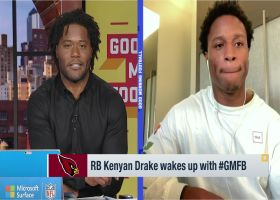 Kenyan Drake on Kyler Murray: He's 'very impressive' on and off the field