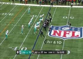 Marvin Jones beats rookie's blanket coverage for first down