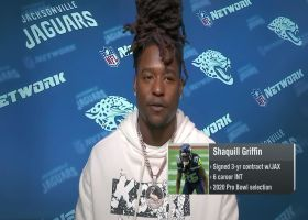 Shaquill Griffin: 'I believe there's something special here' in Jacksonville