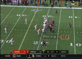 Mixon it up! RB makes host of defenders miss on elusive 21-yard field reversal