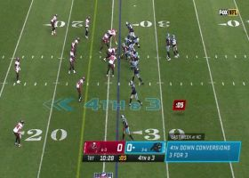 Robby Anderson finds soft spot in zone D for fourth-down pickup