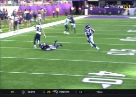 Will Dissly breaks loose for big 39-yard catch and run