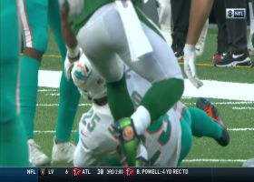Xavien Howard gets interception after blanketing receiver