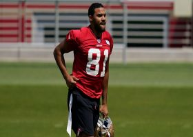 Silver: Jordan Reed has shown 'a lot of promise' in 49ers camp